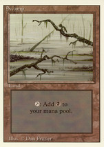 Magic: The Gathering 3rd Edition - Swamp (C) - $0.39