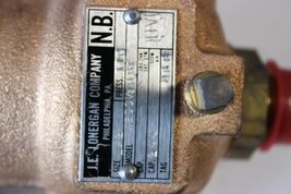 "J.E.LONERGAN 11W2001/2UBT Safety Relief Valve 1/2"" 110psi New image 4"