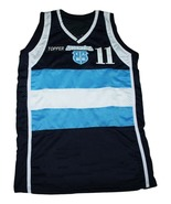 Luis Scola #11 Topper Argentina New Men Basketball Jersey Navy Blue Any ... - $44.99+