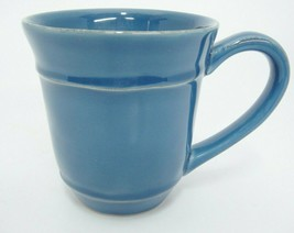Pottery Barn Cambria Ocean Blue Mug 2 Handcrafted in Portugal - $9.89