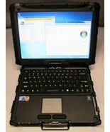 "GETAC V100 12.1"" TOUCH RUGGED NOTEBOOK, I7-640U,500GB HDD,4GB,WIFI,WIN7P... - $431.97"