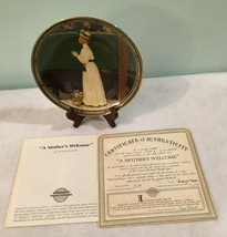 """Vintage1986 Norman Rockwell """"A Mother's Welcome"""" Collectible Plate Limit... - $29.99"""