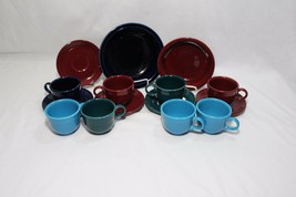 Fiesta Cups Saucers Bowls Lot of 15 - $68.59