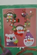 Janlynn Winter Friends Christmas Felt Applique Ornament Kit - $12.82
