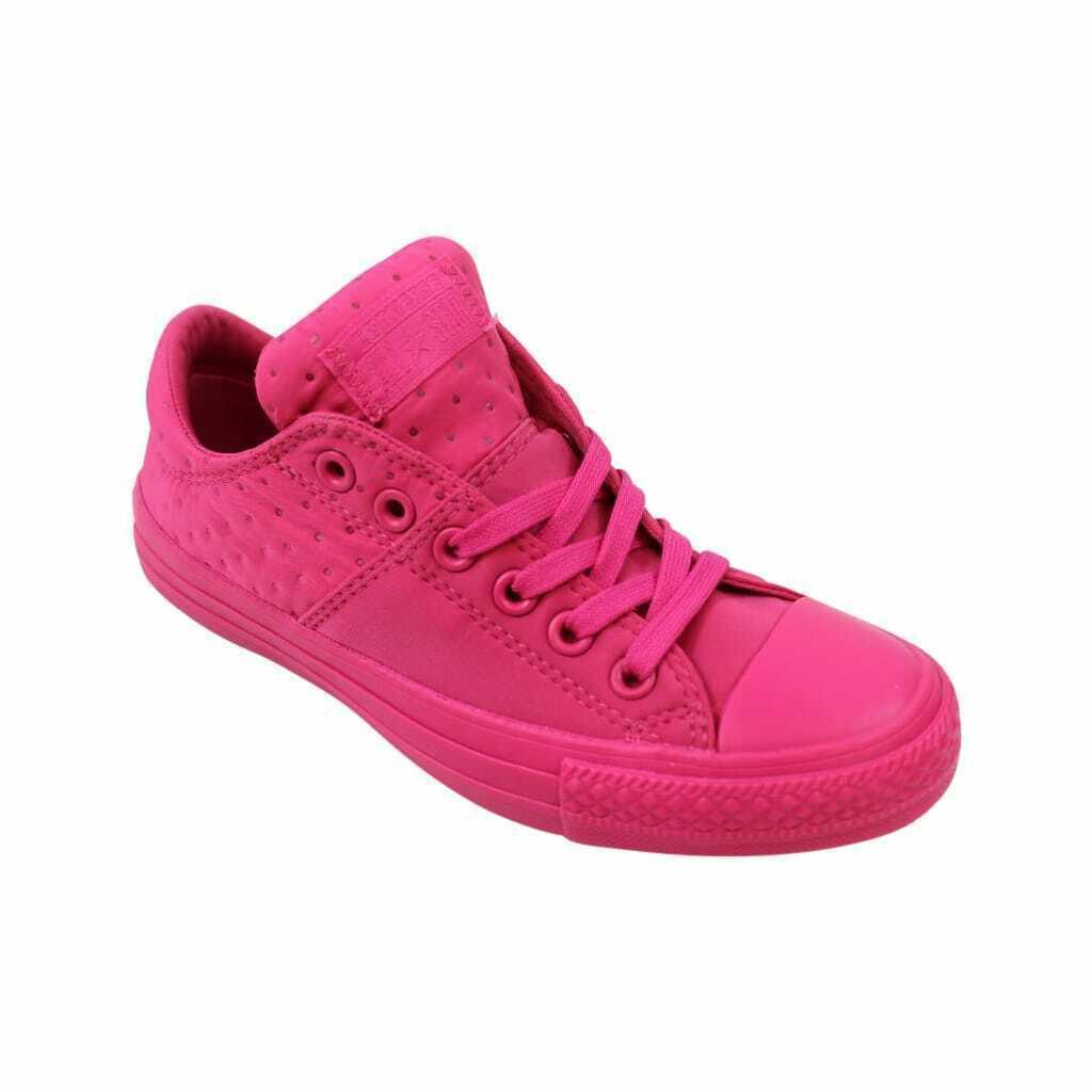 Converse Chuck Taylor Madison Neoprene Ox Vivid Pink 553282C Women's Size UK 4