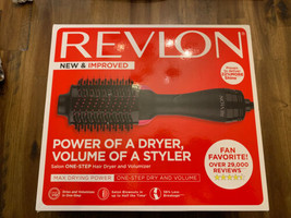 Revlon Oval One-Step Hair Dryer and  Volumizer Hot Air Brush NEW - $29.69