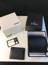 Vintage Rado Watch  Box, Polishing Cloth,Card Holder, Instruction Booklet - $44.55