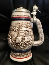 Avon Decorative Collectible Stein Brazil Antique Cars Auto Bugatti Model... - $9.46