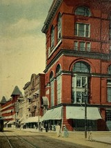 Old Early 1900s Postcard South Ave.Scene Looking N From Court House Roch... - $14.65