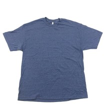 NEW Blue T-shirt XL Extra Large Polyester Cotton Tee Blue Heather Alstyl... - $9.49
