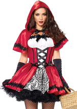Leg Avenue Women's Gothic Red Riding Hood Costume - $23.03