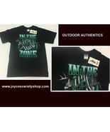 Outdoor Authentics IN THE ZONE Hunting T-Shirt SZ M - $10.99
