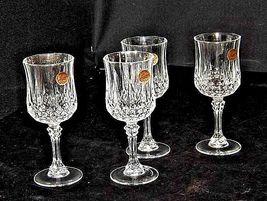 Longchamp Crystal Arques Glasses France 24 PBO Set of 3 LD19-11915 image 3