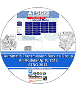 AUTOMATIC TRANSMISSION SERVICE GROUP - ATSG 2012 - ALL MODELS UP TO 2012 - $12.00