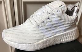 New Adidas NMD R2 Primeknit Vintage White Granite BY2245 Women's Size 5 ... - $207.48