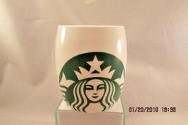 Starbucks Mug 2010 14 fl oz Coffee Tea Mermaid Siren Logo Green Barrel S... - $9.49