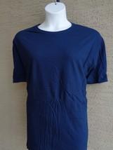 NEW New Hanes 3X Cotton Jersey S/S Crew Neck  Tagless Tee Shirt  Navy - £3.27 GBP