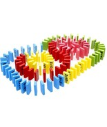 Wooden Educational Toy Mathematics Toys for Children Domino 3-4-5-6-7 ye... - $39.99