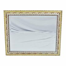 Vintage Framed Tri Color Bevelled Wall Mirror - $195.00