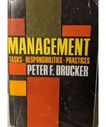 Management : Tasks, Responsibilities, Practices by Peter F. Drucker (197... - $9.79