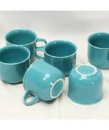 Nancy Calhoun Cups Dark Aqua Lot of 6 - $39.19