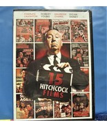 DVD 15 Alfred Hitchcock Classic Films Collection Suspense Black and Whit... - $1.99