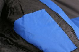 Men's Quilted Lined Removable Hood Two Toned Zipper Puffer Lightweight Jacket image 8