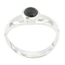 Real Black onyx Black Gems - 925 Sterling Silver Rings gift for mom Bir... - $12.99
