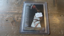 1996 Topps Chris Webber Holding Court Insert - $5.44