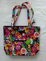 Women's Vera Bradley Villager Tote Bag Handbag Va Va Bloom Retired NWT - $130.68