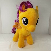 2014 Build A Bear My Little Pony Scootaloo Orange & Purple Shimmer Wings Rare - $48.38