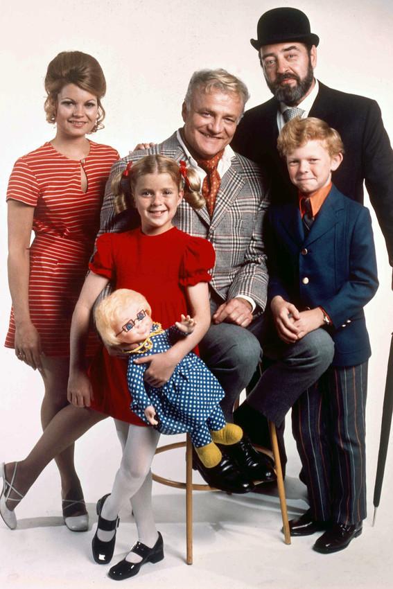 Family Affair Color Brian Keith & Cast 18x24 Poster - $23.99