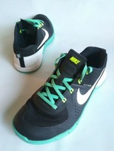Rare NIKE METCON 4 813101-002 Running Shoes Black-White-Teal Womens Size... - $75.24