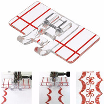 Sewing Machine Parallel Stitch Sewing Tool Simple Mini Clear Plastic Par... - $8.97