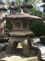 Kaku Yukimi Gata Ishidōrō, Japanese Stone Lantern - YO01010229 - $3,974.50