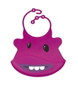 Purple Monster Silicone Baby Bib - Ulubulu - CPSIA Compliant - Fun Toddl... - $17.99