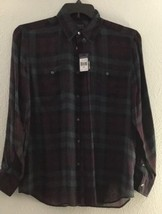 Polo Ralph Lauren Sz M Silk Shirt NWT $245 - $85.44