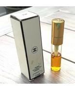 Vintage CHANEL No.5 Spray Perfume 1/5 FL oz Refill 1/2 full original box - $28.99