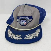 Vintage Confederate Air Force Ghost Squadron SnapBack Hat - $15.83