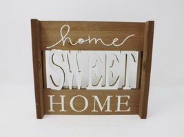 Ashland Wooden Standing Sign - Home Sweet Home - New - $14.99