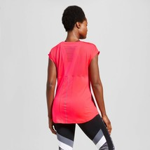 c9 Champion women's Mesh Run T-shirt Neon Flare Pink - $4.23