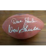 DON SHULA DAVE SHULA DOLPHINS BENGAL HOF SIGNED AUTO 75TH DUKE NFL FOOTB... - $395.99