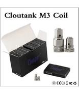 100% Authentic Cloupor Cloutank M3 Wax Coil Heads 10pk New! - $15.44