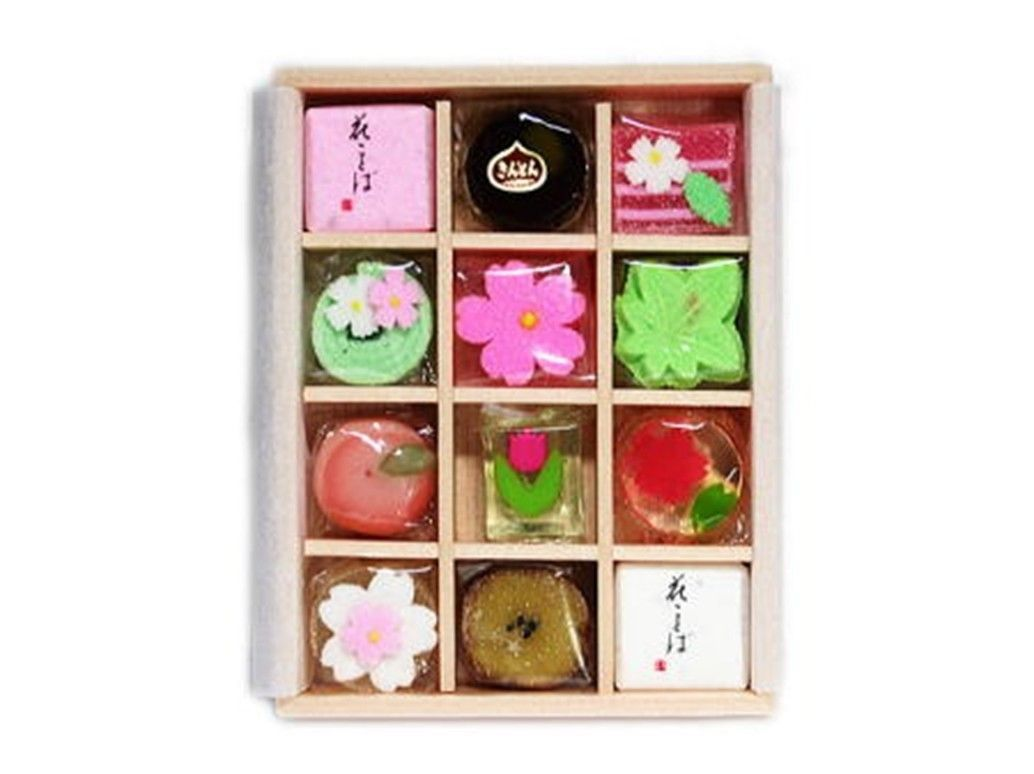 KYOGASHI Candy Jelly Traditional Japanese Sweets set Maiko From Kyoto Japan - $34.20