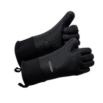 GEEKHOM Grilling Gloves, Heat Resistant Gloves BBQ Kitchen Silicone Oven... - $31.50