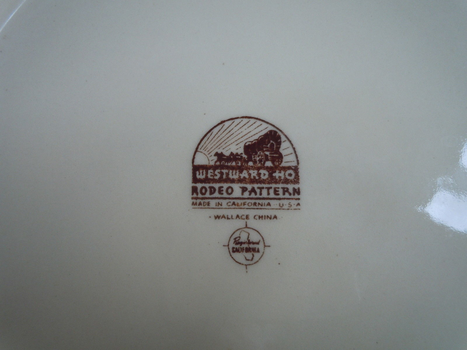 Wallace Rodeo Dinner plate ware image 3