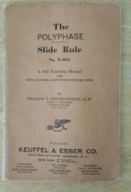 The Polyphase Slide Rule Manual No N4053 1938 4053 Keuffel Esser K&E  - $19.99