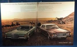 Vintage Magazine Ad Print Design Advertising Lincoln Continental - $12.86