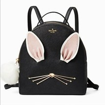 NWT Kate Spade %Authentic Hop To It Rabbit Sammi Backpack Black Bag - $175.99