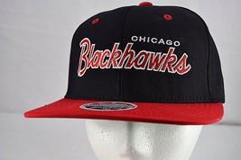 Chicago Blackhawks Black/Red  Baseball Cap Snapback  - $24.99